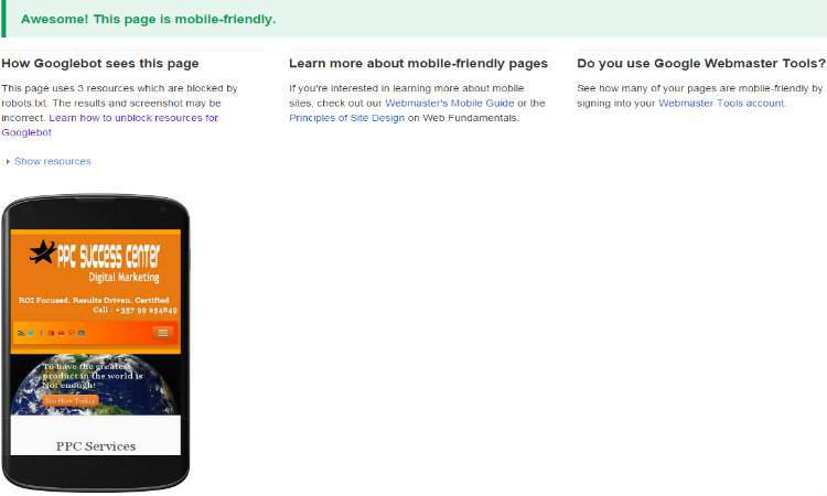 Mobile-Friendly websites are getting more love from Google